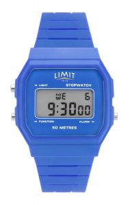 Limit Gents Classic Digital Watch with Blue Silicone Strap 5716