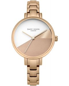 Daisy Dixon Ava Ladies Watch with Rose Gold Stainless Steel Strap DD065RGM