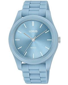 Lorus Ladies Watch with Blue Dial and Blue Silicone Strap RG237SX9