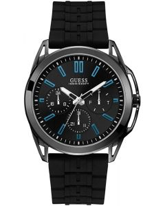 Guess Vertex Men's Watch with Black Rubber Strap W1177G1