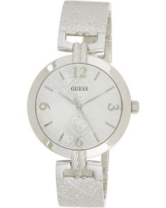 Guess G Luxe Ladies Watch with Silver Stainless Steel Bracelet W1228L1
